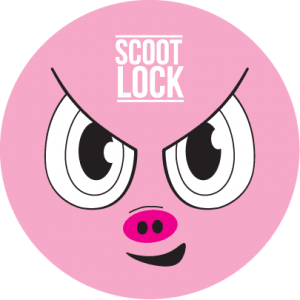 Pig-Scoot-Lock-Label