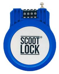 Blue Scoot Lock