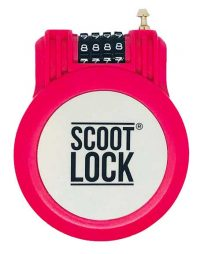pink scooter lock